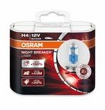 Lâmpada Night Breaker Laser H4 - Osram - 64193NBL - Par