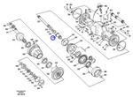 Engrenagem Solar - Volvo CE - 11102251 - Unitário