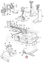 Cinta do Tanque de Combustível - Original Chevrolet - 93319456 - Unitário