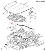 Grampo Do Isolador Termico Do Capô E - Original Chevrolet - 20064875 - Unitário