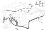 Lâmpada de Sinalização - Volvo CE - 16808643 - Unitário