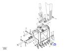 Pino do Dente da Escavadeira - Volvo CE - 14527864 - Unitário