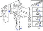 Jogo de Vedação do Sistema de Freio Hidráulico - Volvo CE - 11707461 - Unitário