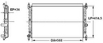 Radiador de Resfriamento - Valeo - 734471R - Unitário