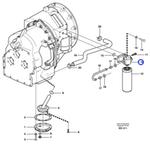Porta -Filtro - Volvo CE - 11144061 - Unitário