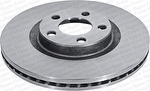 Disco de Freio Ventilado sem Cubo - Hipper Freios - HF 261 - Par