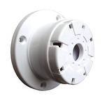 Sirene Piezoelétrica Compacta de 115dB Branca - 12V - DNI - 4204 - Unitário
