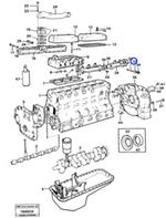 Luva Espaçadora - Volvo CE - 3978600 - Unitário