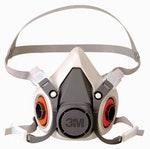 Máscara Respiratória 6200 Média Semi-Facial - 3M - H0002317255 - Unitário
