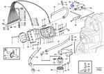 Adaptador do Filtro de Óleo da Transmissão - Volvo CE - 11037822 - Unitário