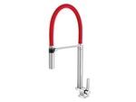 Torneira para Cozinha de Mesa Bica Alta DOC Chrome/Vermelho - Docol - 00738979 - Unitário