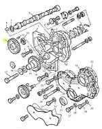 Engrenagem do Comando - PERKINS - 3117L012 - Unitário