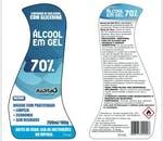 Álcool em Gel 70% - Limpador de uso geral 200 ml - RADNAQ - RQ7001 - Unitário