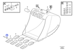 Trava do Dente - Volvo CE - 11045706 - Unitário