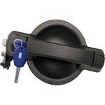 Maçaneta Externa da Porta de Correr Lateral com Chave - Perfil Snake Key - Universal - 70836 - Unitário