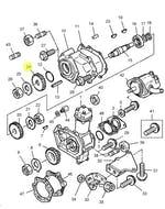 Engrenagem do Compressor - PERKINS - 3117C131 - Unitário
