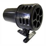 Sirene Mecânica de Som Rotativo Contínuo 117Db 127V Preta - DNI - DNI 3715 - Unitário