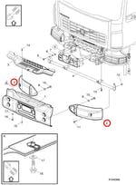 PARA-CHOQUE - Volvo - 20491728 - Unitário
