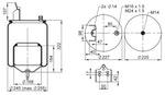 Mola Cilíndrica - Contitech - 63371 - Unitário
