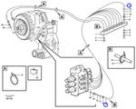 Tubo Plástico do Sistema Hidráulico - Volvo CE - 944963 - Unitário