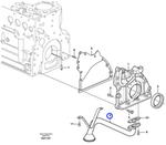 Tubo de Óleo - Volvo CE - 20977068 - Unitário