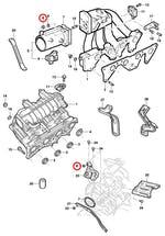 Porca do motor do levantador dos vidros - Original Chevrolet - 11086853 - Unitário