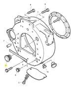 Bujão Tampão da Carcaça do Volante - PERKINS - 2487A452 - Unitário