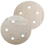 Disco de lixa seco A275 grão 180 127mm c/ 5 furos - Norton - 66261086363 - Unitário