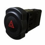 Interruptor do Pisca Alerta Renault 8200602232 - 8 Terminais 12V Chave Comutadora - DNI - DNI 2108 - Unitário