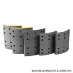 LF 0121 LONA DE FREIO LEVE - Bosch - 0986BB1024 - Par