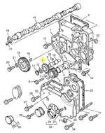 Engrenagem Intermediaria - PERKINS - 4111A008 - Unitário