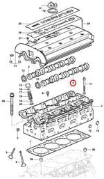Árvore-de-comando de válvulas de escape - Original Chevrolet - 93341892 - Unitário