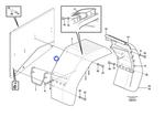 Para-Lama Traseiro - Volvo CE - 11400142 - Unitário