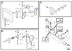 Porca da Ancoragem do Monitor - Volvo CE - 11171564 - Unitário