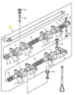 Eixo Balanceiro de Válvulas - PERKINS - ZZ90171 - Unitário