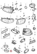 Lanterna da Luz de Placa - Original Chevrolet - 90519268 - Unitário