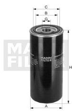 Filtro Blindado do Óleo Hidráulico - Mann-Filter - WD962 - Unitário