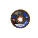 Disco flap Vortex grosso - marrom 115x22mm - Norton - 66261122500 - Unitário