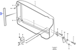 Guarnição do Filtro de Ar - Volvo CE - 11104519 - Unitário