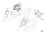 Válvula de Prioridade - Volvo CE - 15092359 - Unitário