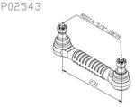 Tirante da Barra Estabilizadora - Della Rosa - P02543 - Unitário