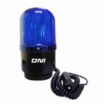 Sinalizador Giroled de Advertência Bivolt Alto Brilho Azul - DNI - DNI 4112 - Unitário