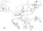 Mangueira Radiador - Volvo CE - 11019651 - Unitário