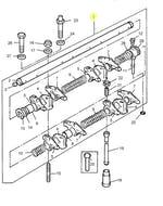 Eixo Balanceiro de Válvulas - PERKINS - ZZ90158 - Unitário