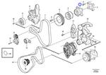 Cubo do Ventilador - Volvo CE - 21146740 - Unitário