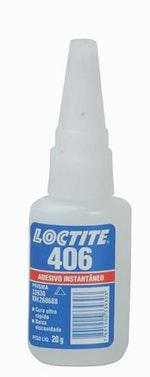 Adesivo Instantâneo 406 20g - Loctite - 268688 - Unitário