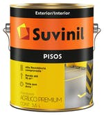 Tinta para Piso Fosco Cinza Escuro 3,6L - Suvinil - 53419321 - Unitário