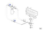 Junta do Adaptador do Filtro de Óleo - Volvo CE - 993407 - Unitário