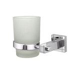 Porta Escova de Dentes Parede Glass Piazza - Forusi - 9.01.0440.25 - Unitário