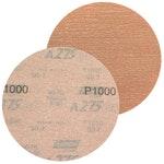 Disco de lixa seco A275 grão 1000 152mm s/ furo - Norton - 66261086344 - Unitário